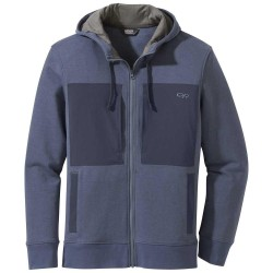 OUTDOOR RESEARCH MEN'S CAM FULL ZIP HOODY