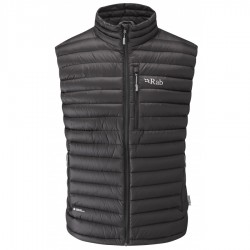 RAB MICROLIGHT VEST GOOSE DOWN MENS