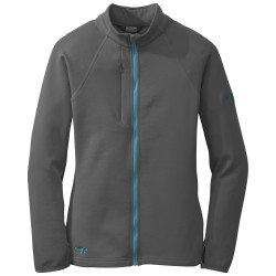 OUTDOOR RESEARCH WOMENS RADIANT HYBRID  SOFTSHELL JACKET